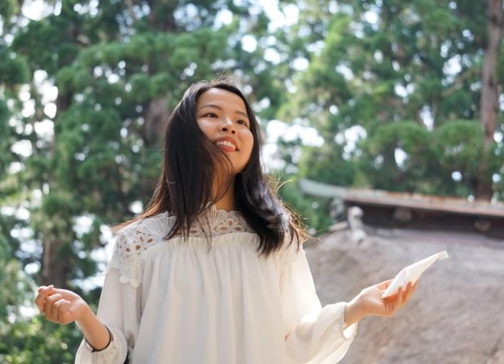 縁結びの神 熊野大社で巫女体験(毎月15日・いいとこどりコース)