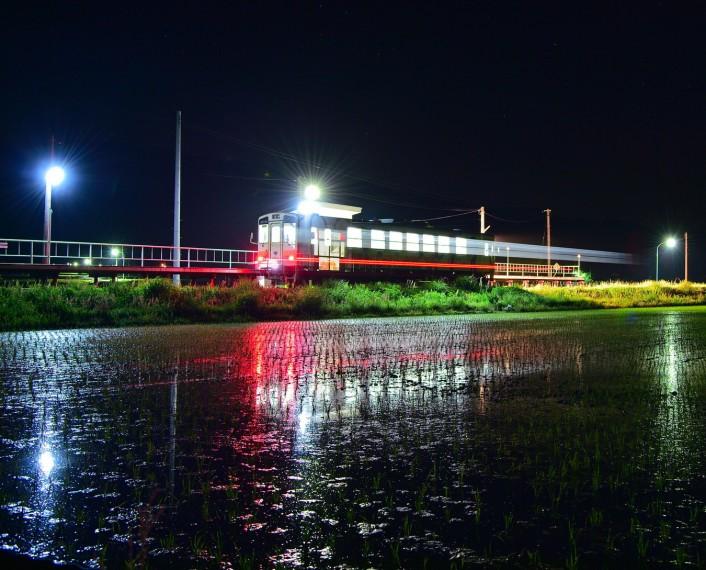 鉄道写真家 広田 泉氏と行く フラワー長井線夜の撮影会ツアー